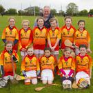 The under-10 Horeswood team