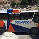 Monageer woman Olivia Murphy's picture of the Wexford Bus in Nepal