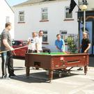 The tournament in progress in Fethard-on-Sea.