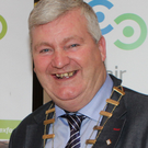 Cllr Paddy Kavanagh: praised for his year as Council Chairman.