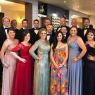Members of St Michael's Theatre Musical Society at the AIMS Awards