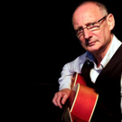 Billy Roche and his red guitar