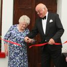 Greg Geraghty, Bridie Lawlor who performed the official opening, Michael Cullen and Patrick Kent