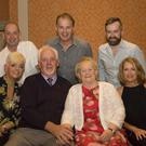 Paddy and Mai Shannon from New Ross celebrating their 55th wedding anniversary in the Horse and Hound with their children Regina, Pauline, Tony, Pat and Derek