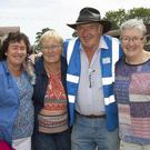 Annette Doran from Duncormick, Joan Sinnott from New Ross and Séamus Kane and Eileen Moulds from Ferns