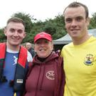 Rory Murphy, Edermine club, Lorraine Foley, Ferrycarrig, and Peter Mullen, St. Kearns