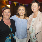 Clodagh Nolan with Sophie and Majella Mulley