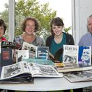 Anne Griffen, librarian; Sinead Casey, Wexford County Council; Karen O'Connor and Willie Kielthy, Kennedy Summer School.
