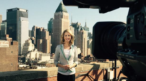 RTE's Washington correspondent Caitriona Perry will be one of the highlights of the Kennedy Summer School