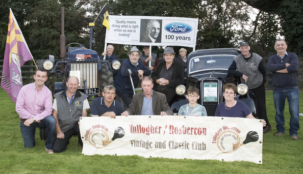 At the launch of Tullogher Rosbercon Vintage field day, to be held on September 10