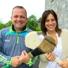 Davy Fitzgerald and Lucy Kennedy at Davy's home in Clare.