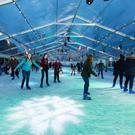 People enjoying last year's Wexford People Wexford on Ice.
