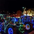 The tractors on the quay in New Ross last year