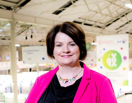 Mari Cahalane, at the helm of the BT Young Scientist and Technology Exhibition