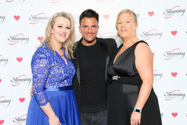 Nichola Ryan and Tamsin O'Neill with Peter Andre