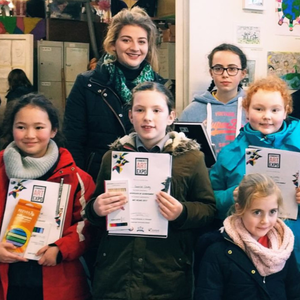 Art prize winners at Ramsgrange Community School
