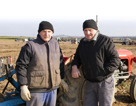 Eamon White from Rathangan and Tommy Cullen from Killag