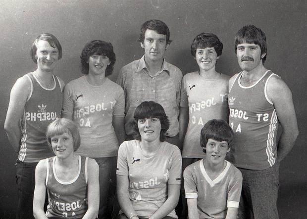 1982. Back: Michael Lawlor, Mary Hennessey, Denis North, Mary Healy and Eddie Manning. Front: Desmond North, Catherine Hennessey and Gerry Curren