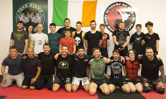 At the New Ross Academy of Martial Arts in Woodbine Industrial Estate New Ross