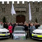 At Slaney Manor for the launch of the Wexford Car Classic Club's Spring Challenge in aid of Wexford Marinewatch.
