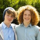 CBS Junior Cert students Peter Roche and Ronan Lavery.