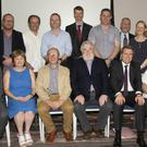 At the launch of the new Wexford Restorative Practices Partnership (WRPP) website in Clayton Whites Hotel (from left) back – Maeve O'Byrne (WLD), Tommy Somers, Terry O'Neill, Cllr Oisín O'Connell, Tony Kennedy, Garda Alan Quirke, Cllr Ger Carthy, Frank Murphy, Sheila Barrett, Michelle Weir, Sinead O'Hara and Garda Sgt Cormac Sheridan; seated – Brian Kehoe, Cllr Barbara Anne Murphy, Michael Wall, Paul Delaney (Chairman), James Browne TD, Cllr Mary Farrell and Rosanne Cahill