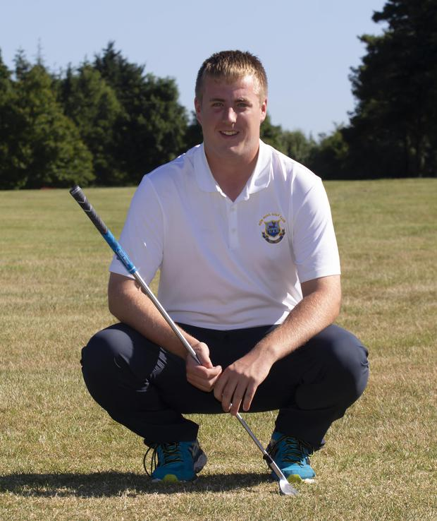 Golfer Michael Ryan Jnr from Ballylane East who is turning Pro