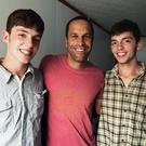 Brandon and Ashley Watson with Jack Johnson