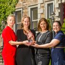 Lorna Murphy Assistant General Manager, Becky Cranfield of Pevonia, Pamela Nolan Assistant Spa Manager and Marita Byrne Supervisor