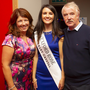 Saoirse Walsh with her parents Cecelia and Jack