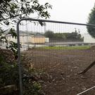 The new entrance to Marshmeadows halting site
