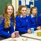 Breakfast time for students at Our Lady of Lourdes