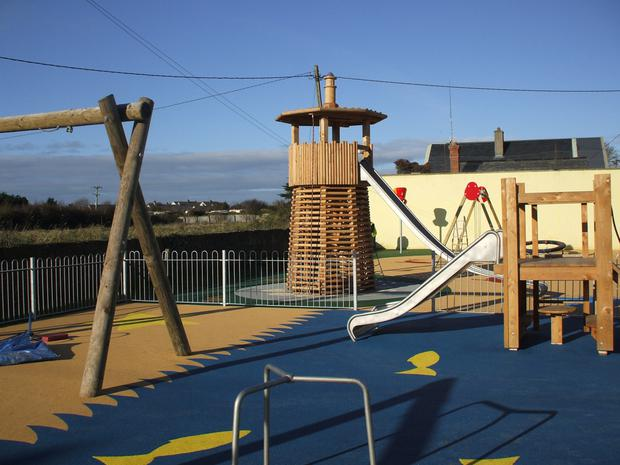 The refurbished playground in Fethard