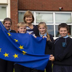 Deirdre Clune MEP with Sally Kehoe, Ben Parker, Kate Kehoe and Richard Rice