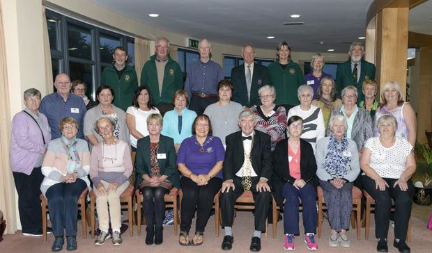 Wexford Lions Club hosted a carers weekend in Ballvaloo Retreat Centre and was officially opening by Cllr Tony Dempsey, Mayor of Wexford, on Friday evening with the assistance of Gabrielle Willis, Lions Club president, and its members.