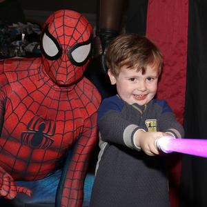 Fionn Howe, Marshalstown and Spiderman