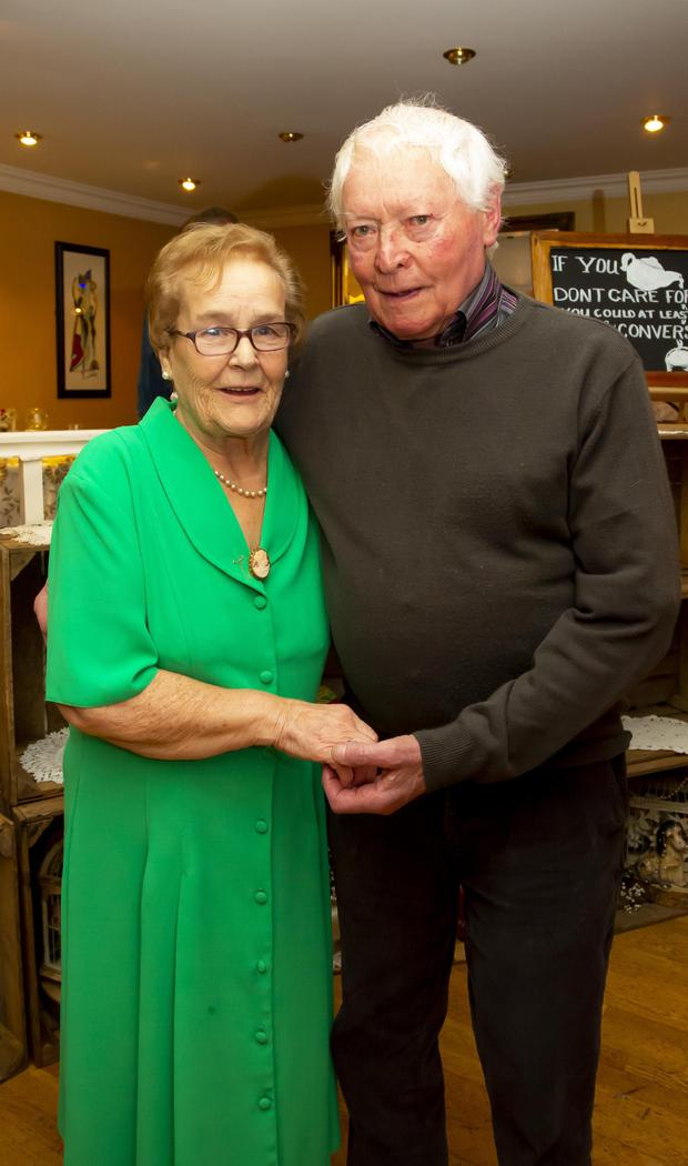 Nellie and Peter Whelan
