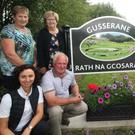 Gusserane Tidy Villages Group celebrating a great year: Back Row (l-r) Mary Ann O'Brien, Kathleen Corcoran, Tony Power and Eileen Lacey. Front (l-r) Bridie Breen, John Kearns, Ger Breen and Ann O Hanlon