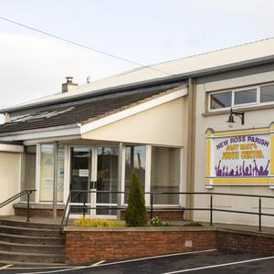 Youth Centre, New Ross, where the Penny Bank has operated from
