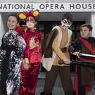 Aoibhe Bates, Graces Bates, Keelin O'Reilly, Aaron Dempsey, Ailbe Kitts and Áine McGuire who will appear in Kilmore School's production of Mulan Junior at the National Opera House