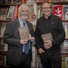 Nicky Rossiter who launched the book with the author Des Kiely