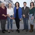 Pictured at the announcement of the Film Fund award: John Carley (Director of Services, Wexford County Council), Edwina Forkin (Zanzibar Films), Hannah Niven from Oulart, Liz Burns (Arts Officer, Wexford County Council), Brian Rossney (Zanzibar Films), Laura Way and Terry Moran (Bodecii Film)