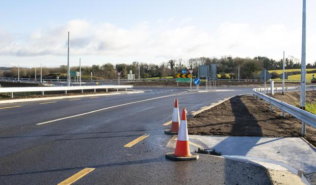 The new Corcoran's Cross Roundabout which is now open to traffic, offering drivers a first glimpse of the new New Ross bypass