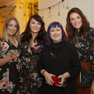 Gráinne Donoghue, Blaithnaid Fitzsimons, Christine Scarry, Red Alchemy Theatre Company and Aoife Fitzsimons at the recent production of 'Vincent' at Horetown House