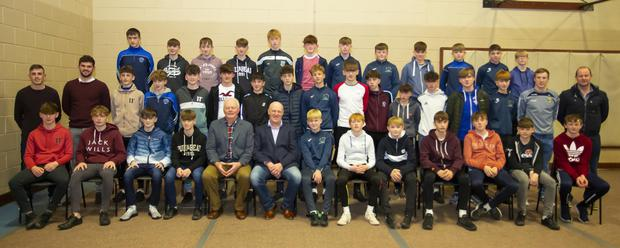The 1st year hurling and football squad