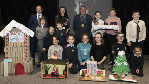 Primary Group Entry - BACK: Abigail, Tara and Eli Hegarty, Mercy School, St John's Road, Ruby Kirwan and Emma Codd, Rathnure NS, Emma O'Leary and Ina Mullen, Scoil Mhuire Barntown, Leah Wright and Grace Donnelly and Harry, Jack and Lucy Burke, Ballyduff
