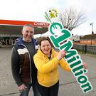 The delighted owners of Kavanagh's Village Forecourt in Clonroche, Jack and Rita Greene