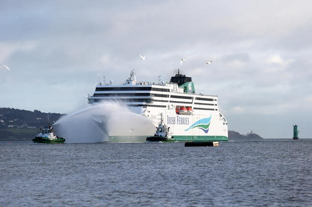 Dublin's gain:As Wexford reels from news of the likely cancellation of the 2019 service from Rosslare Europort to France, the new Irish Ferries ship W.B. Yeats arrives into Dublin Port. The company will operate up to four sailings per week from Dublin to France, starting mid-March and running into September