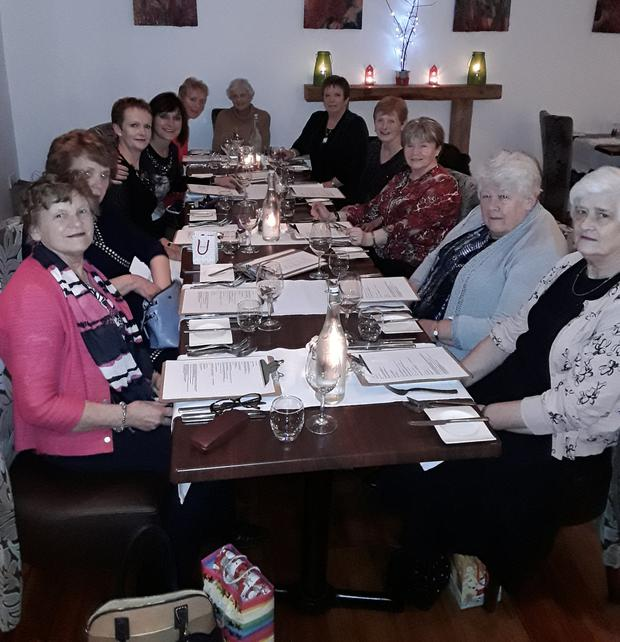 Pictured, from left, are members of Crazy Quilters celebrating their 21st anniversary: Brenda Foley, Alice Ryan, Peggy Molloy, Debbie Quinn, Anne Murphy, Rosa Ronan, Jean Morris, Annette Walsh, Marianne St Ledger, Marie Browne and Philo Whelan. (Missing from the photo are Maura Diamond and Celly Irwin)