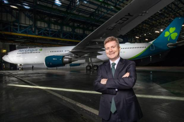 Sean Doyle, new CEO of Aer Lingus, whose father hails from Wexford